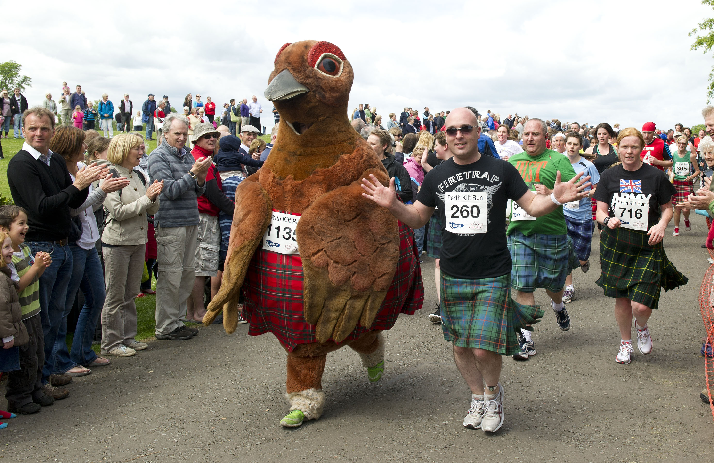 Perth's World Record Kilt Run