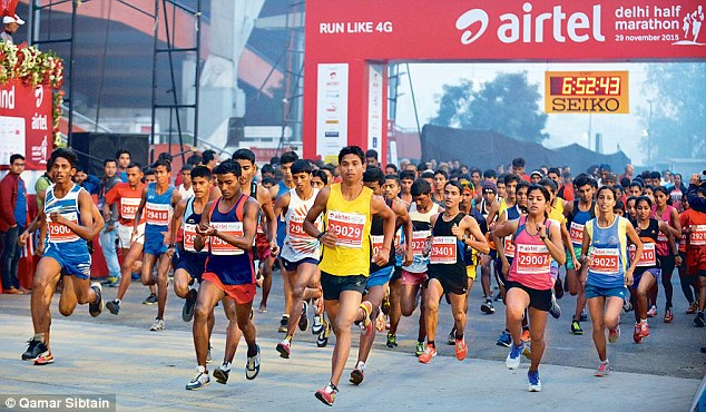 Airtel Delhi Half Marathon - New Delhi, India - 11/29/2020 - My BEST Runs -  Worlds Best Road Races