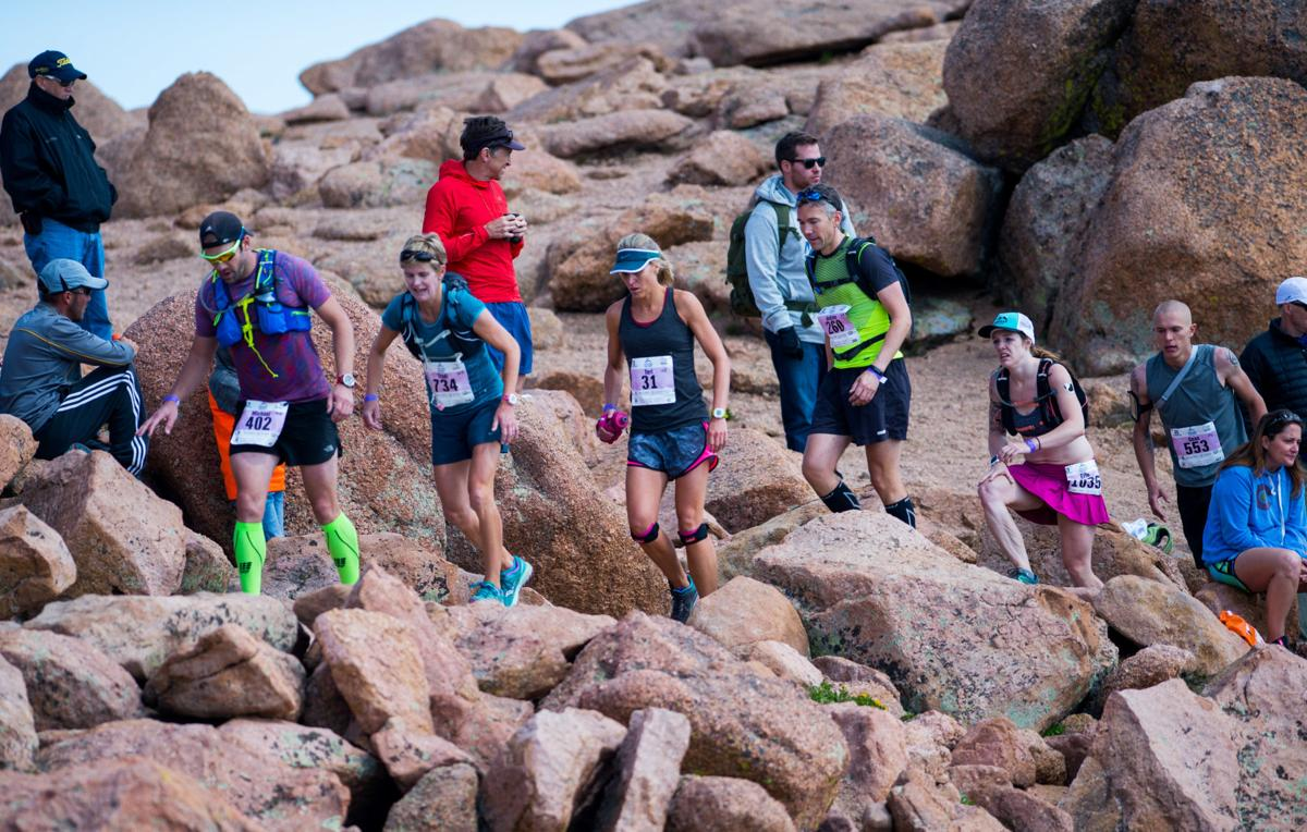 Image result for athletes running pikes peak