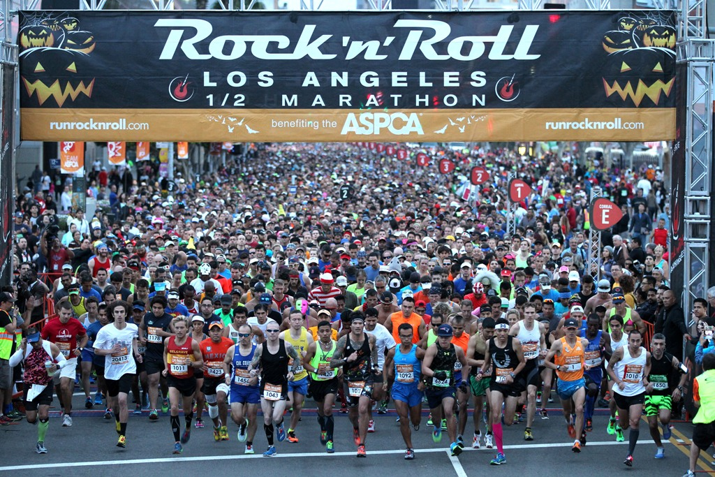 Rock N Roll Los Angeles Half Marathon