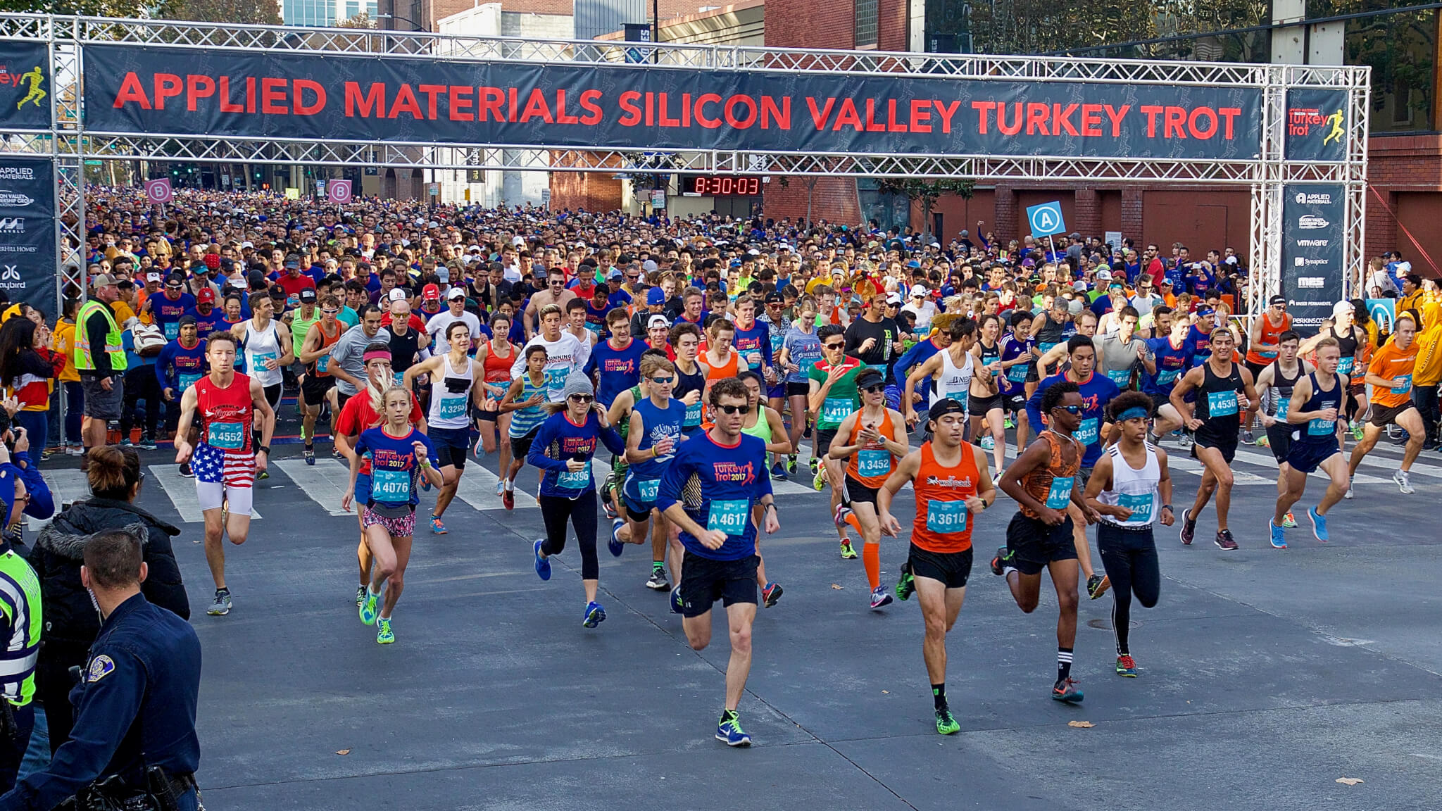 Silicon valley turkey trot prizes and awards