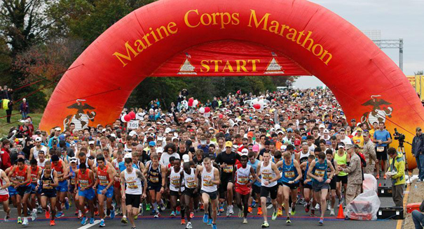 Image result for marine corps marathon