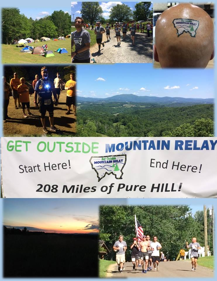 Get Outside Mountain Relay Glade Valley Nc 6 5 2020