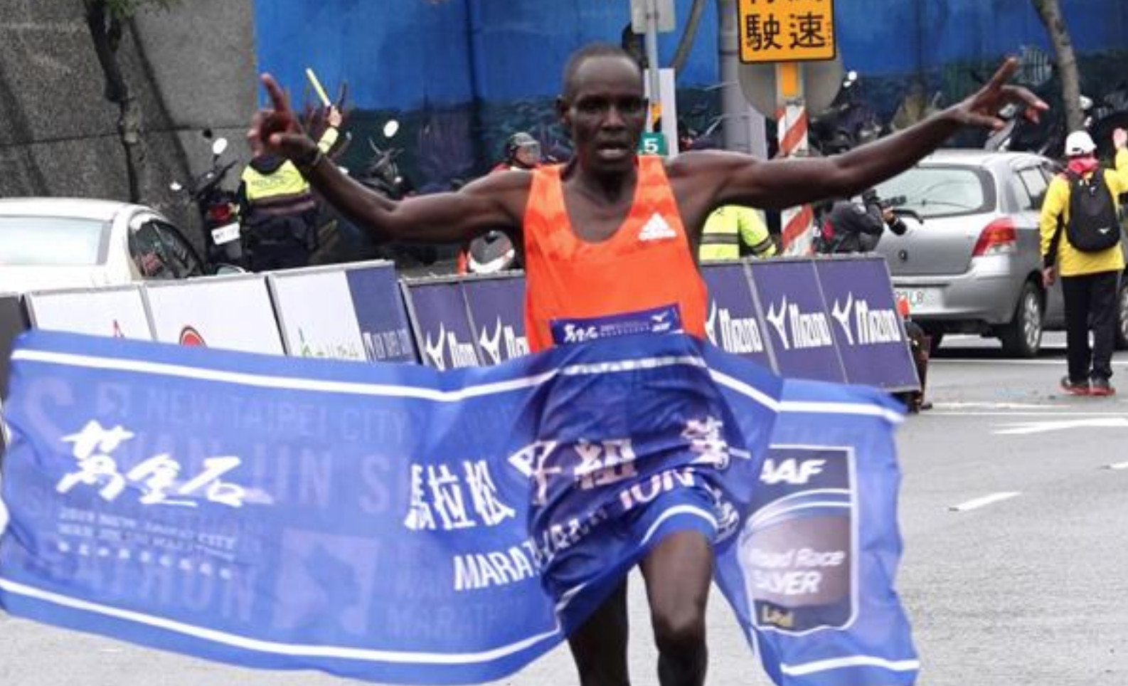 Kiplagat led four men under 2:07 at the Seoul Marathon