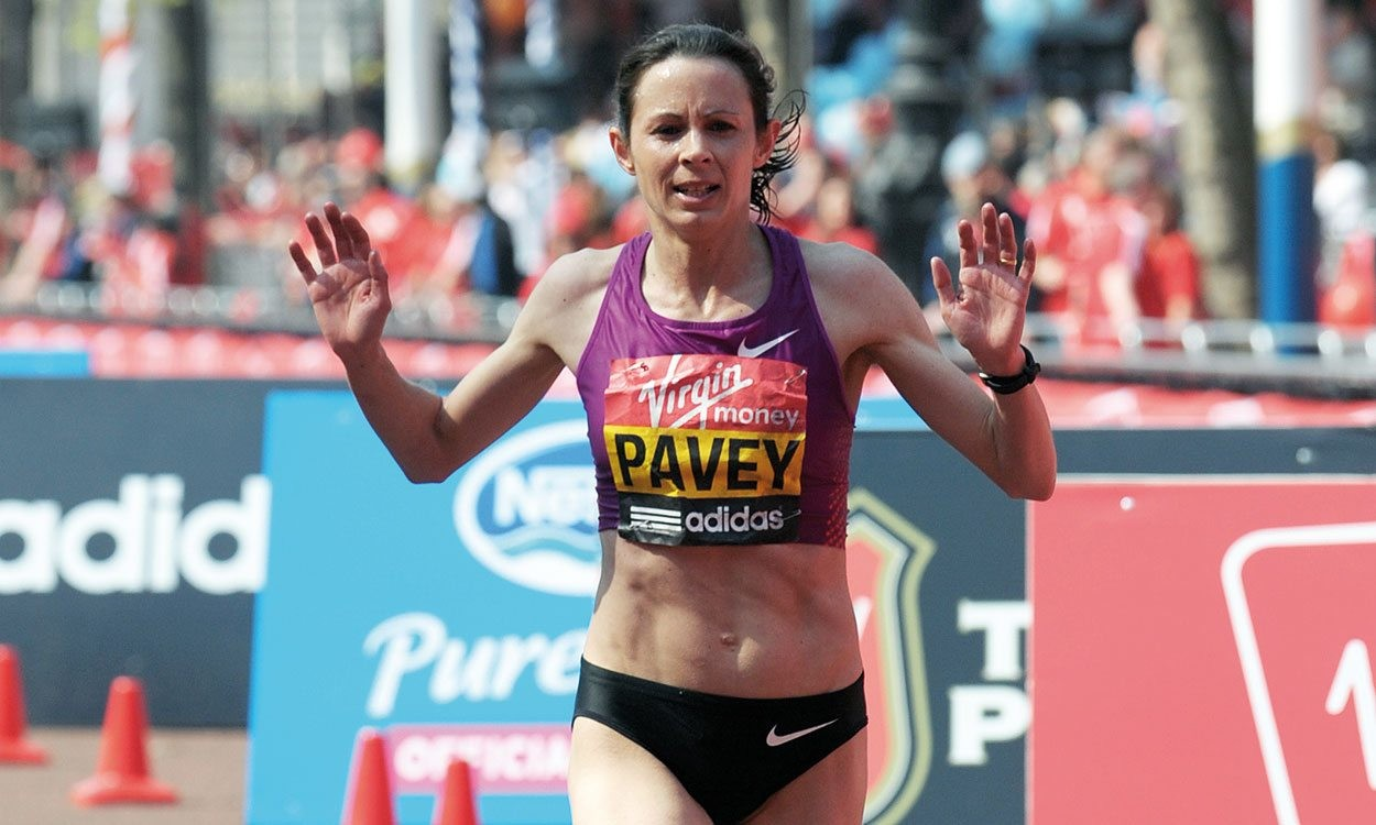 British runner Jo Pavey hopes to make the Olympic Team for the sixth time