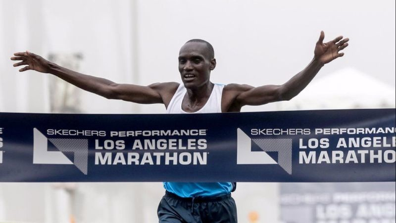 Weldon Kirui will aim to become the first three-time winner at L.A. Marathon