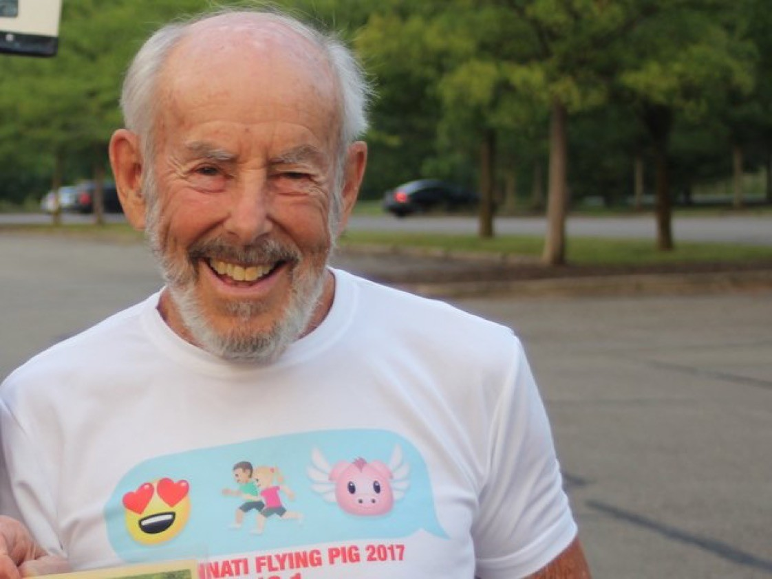 Mike Fremont will be attempting to set an American road mile record, he is 96