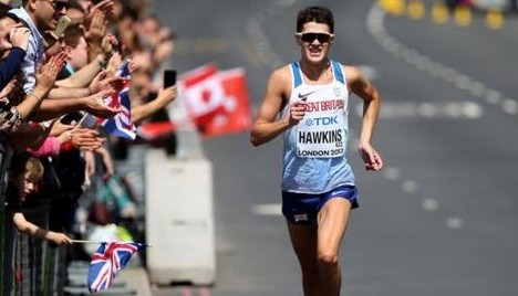 Callum Hawkins has been pre-selected to race for Great Britain in next year's Olympic Games marathon