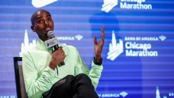 Mo Farah defended his reputation as he was bombarded with questions about his former coach Alberto Salazar