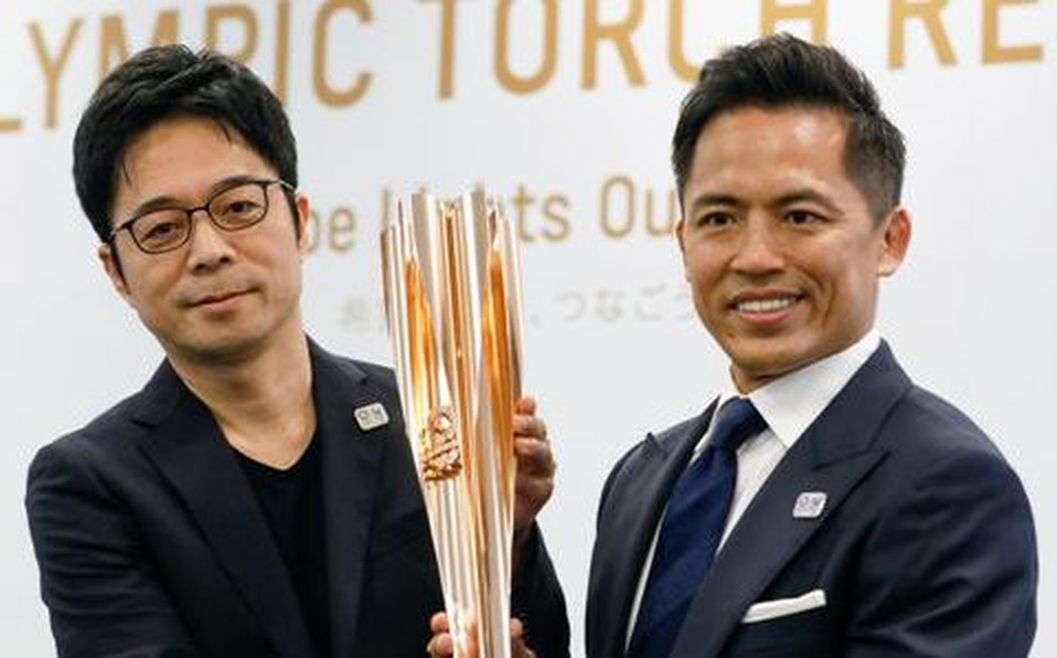 The concept of the tokyo 2020 olympic torch is to bring the Japanese people together