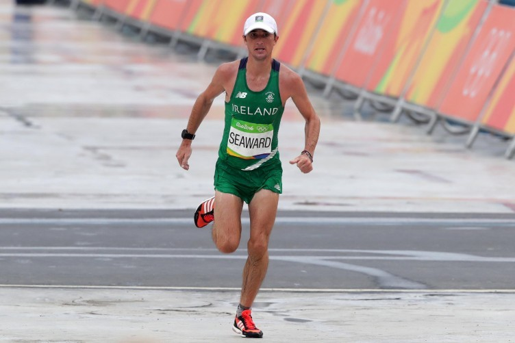 Irish marathon runner Kevin Seaward believes Olympics probably won't happen