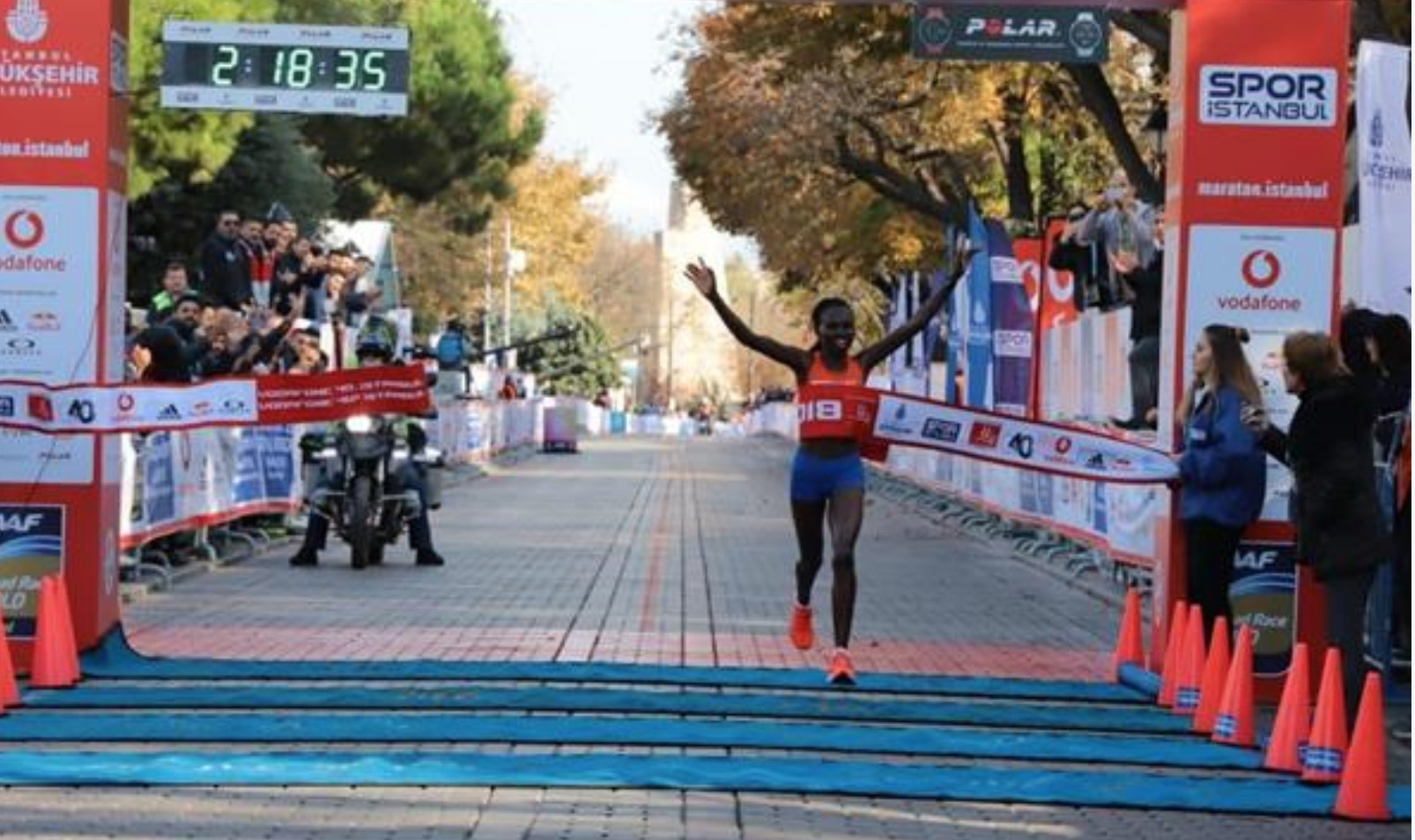 Ruth Chepngetich clocks 1:05:30 at Vodafone Istanbul Half Marathon