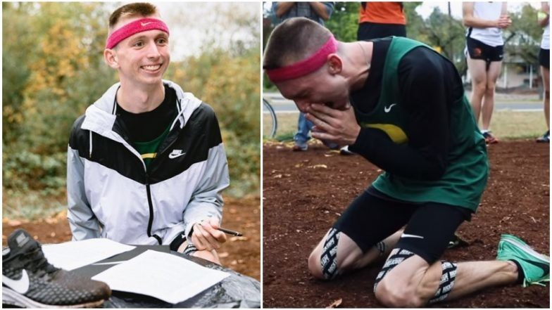 Justin Gallegos is the first athlete with cerebral palsy to be signed by Nike