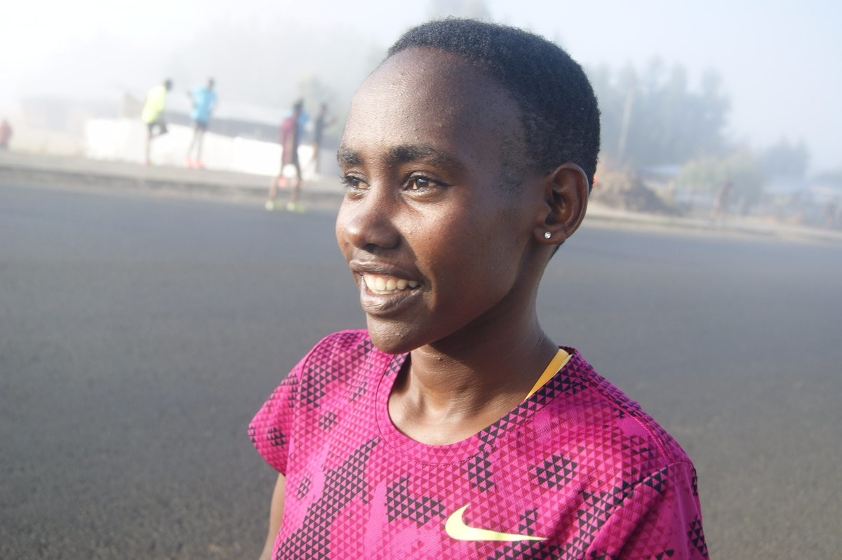 Ethiopian Ruti Aga wants to win the title at the Tokyo Marathon