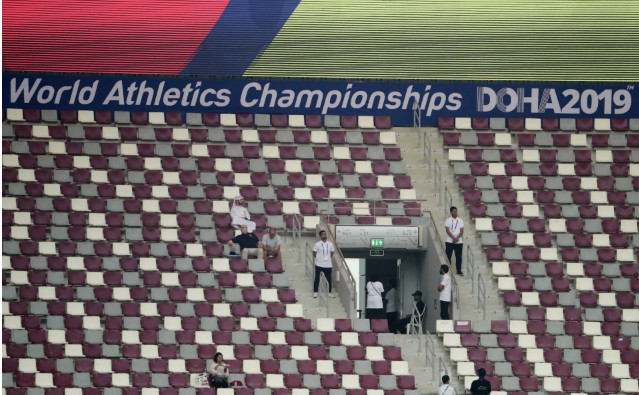 The IAAF World Athletics Championships in Doha attendances were a disaster and will impact Qatar's chances of ever hosting an Olympic Games
