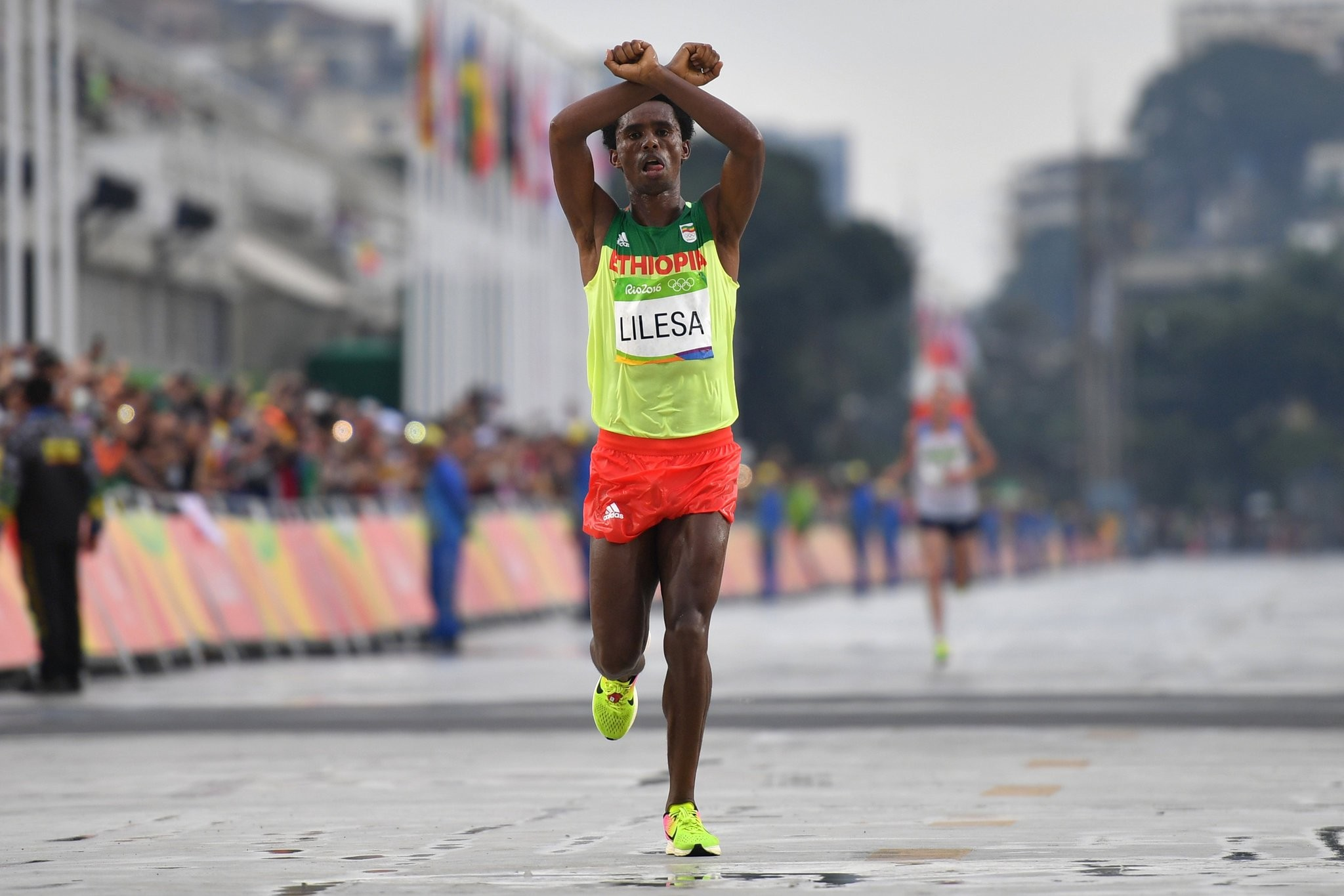 Lilesa, descends on Houston Half Marathon