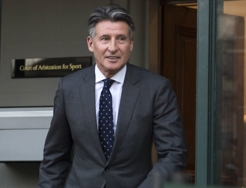 Sebastian Coe, the head of World Athletics, was voted in as a member of the International Olympic Committee on Friday