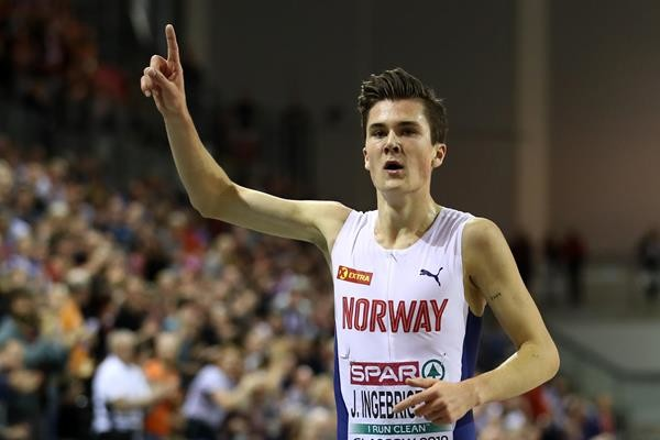 Norway's 18-year-old superstar Jakob Ingebrigtsen is red hot but where is our flag