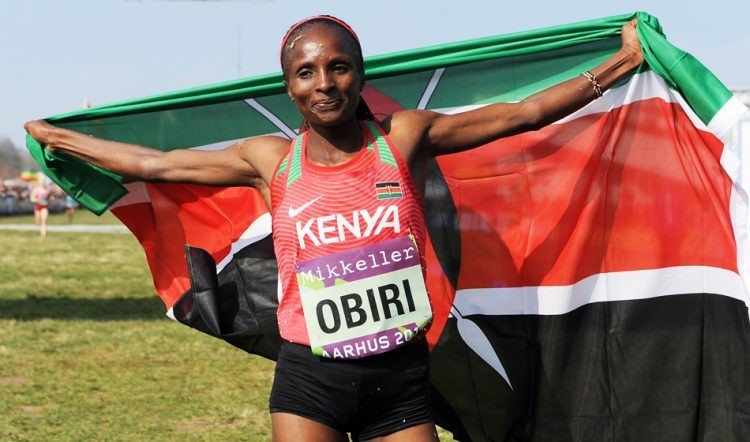 Kenyan Hellen Obiri is aiming for success over 5000m and 10,000m at IAAF World Championships Doha