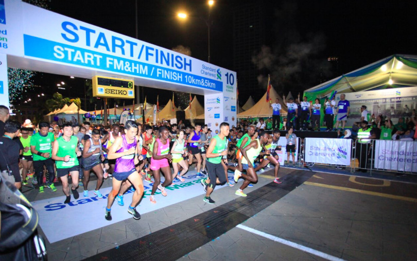 Standard Chartered KL Marathon This year's edition could be the biggest one for Malaysia's premier running event