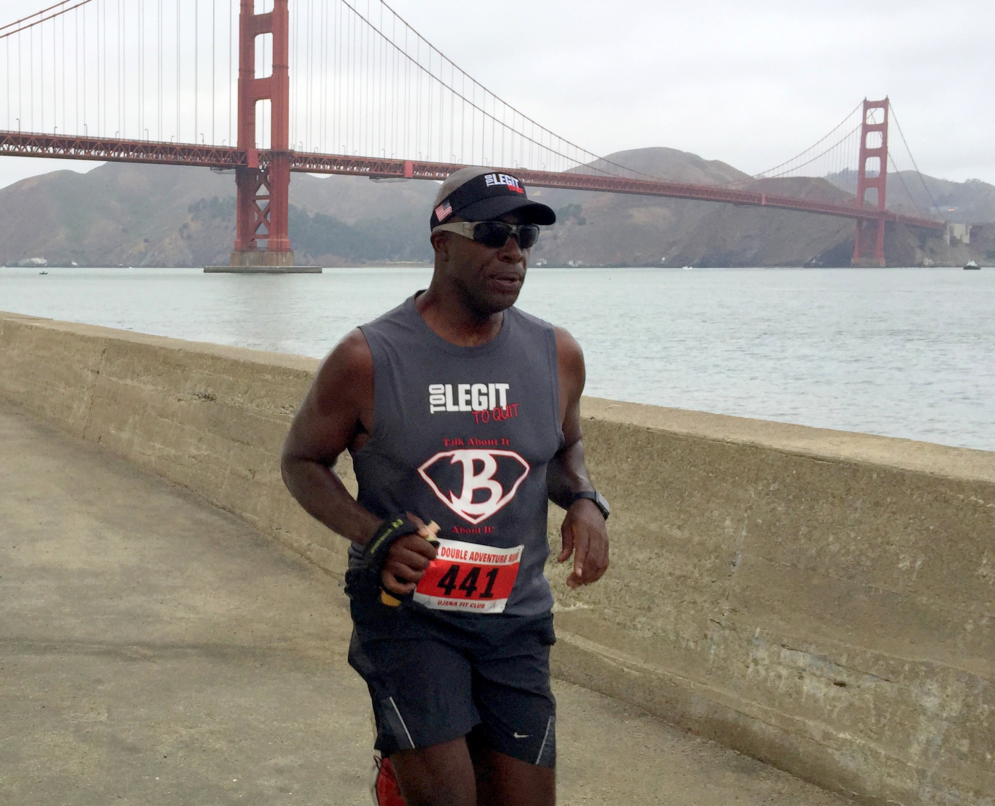 Global Run Challenge Profile: Bertrand Newson aka Coach B gets immense pleasure encouraging others to get active