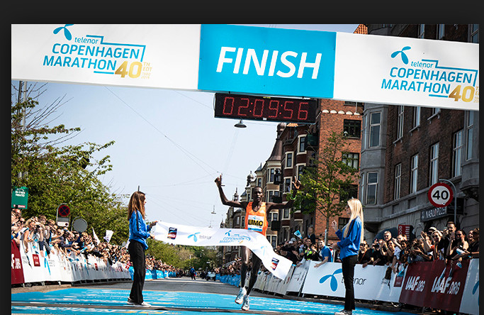 Danish all-comer's record broken at the Copenhagen Marathon