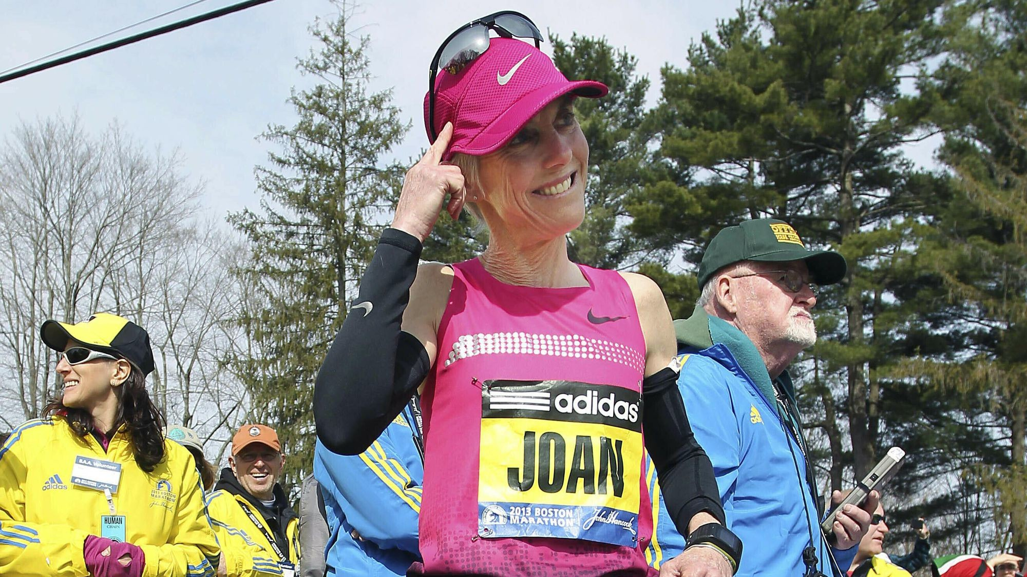 Two-time champion and Olympic gold medalist Joan Benoit Samuelson plans to run the Boston Marathon again at age 61