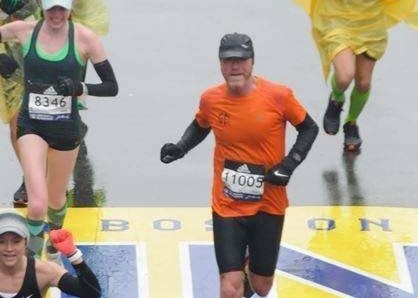 Completing the Boston Marathon was number one on Daniel's Bucket List