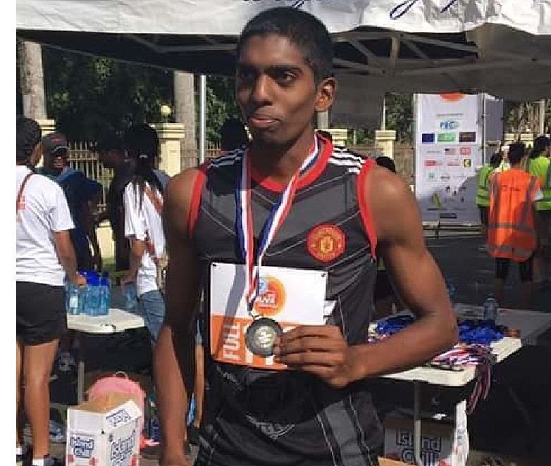 Kennol Narayan won the 2018 Island Chill Suva Marathon