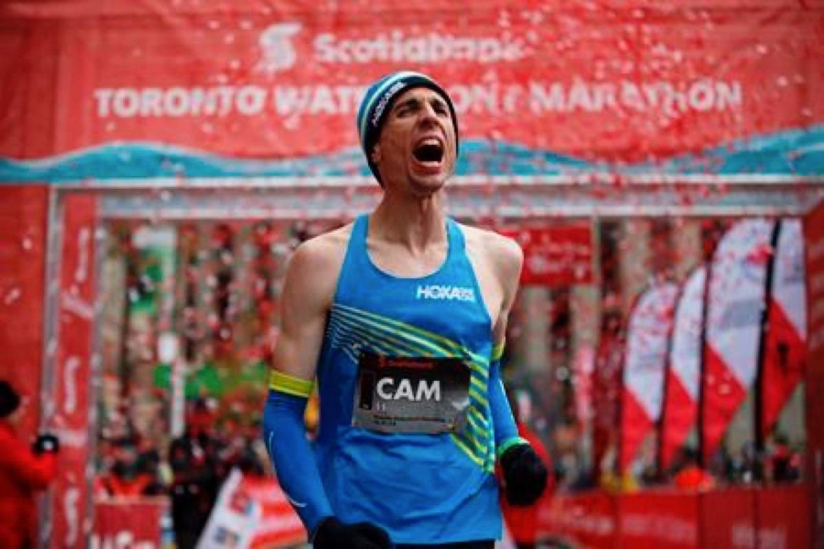 Canada's Cam Levins breaks Jerome Drayton's national marathon Record in Toronto