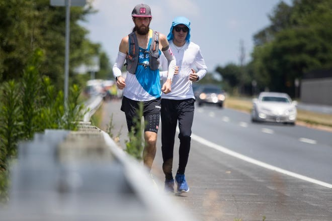 Professional ultramarathoner Michael Wardian is running length of Delaware