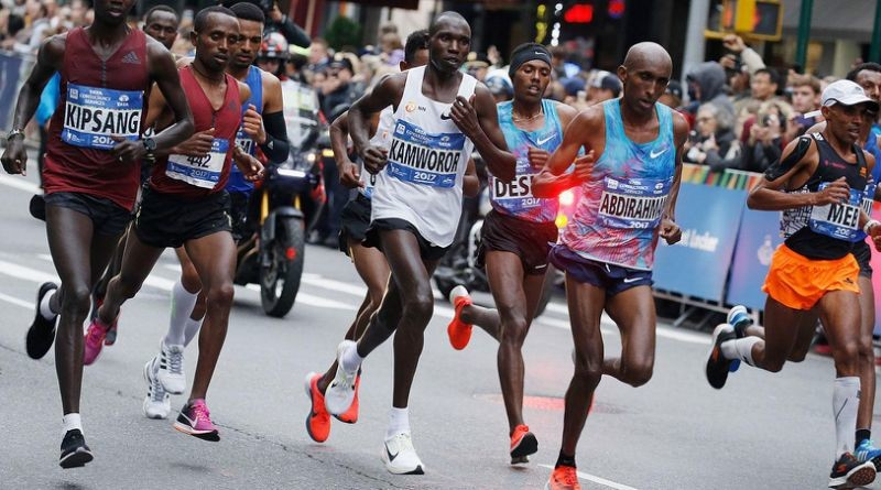 New York marathon champion Geoffrey Kamworor is not ruling out running on the track at the Tokyo Olympics