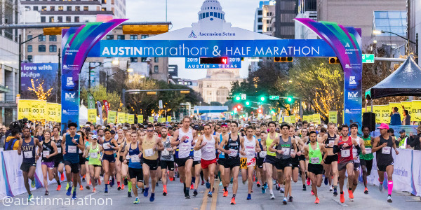The Ascension Seton Austin Marathon presented by Under Armour donated Nearly $23,000 to Paramount Theatre
