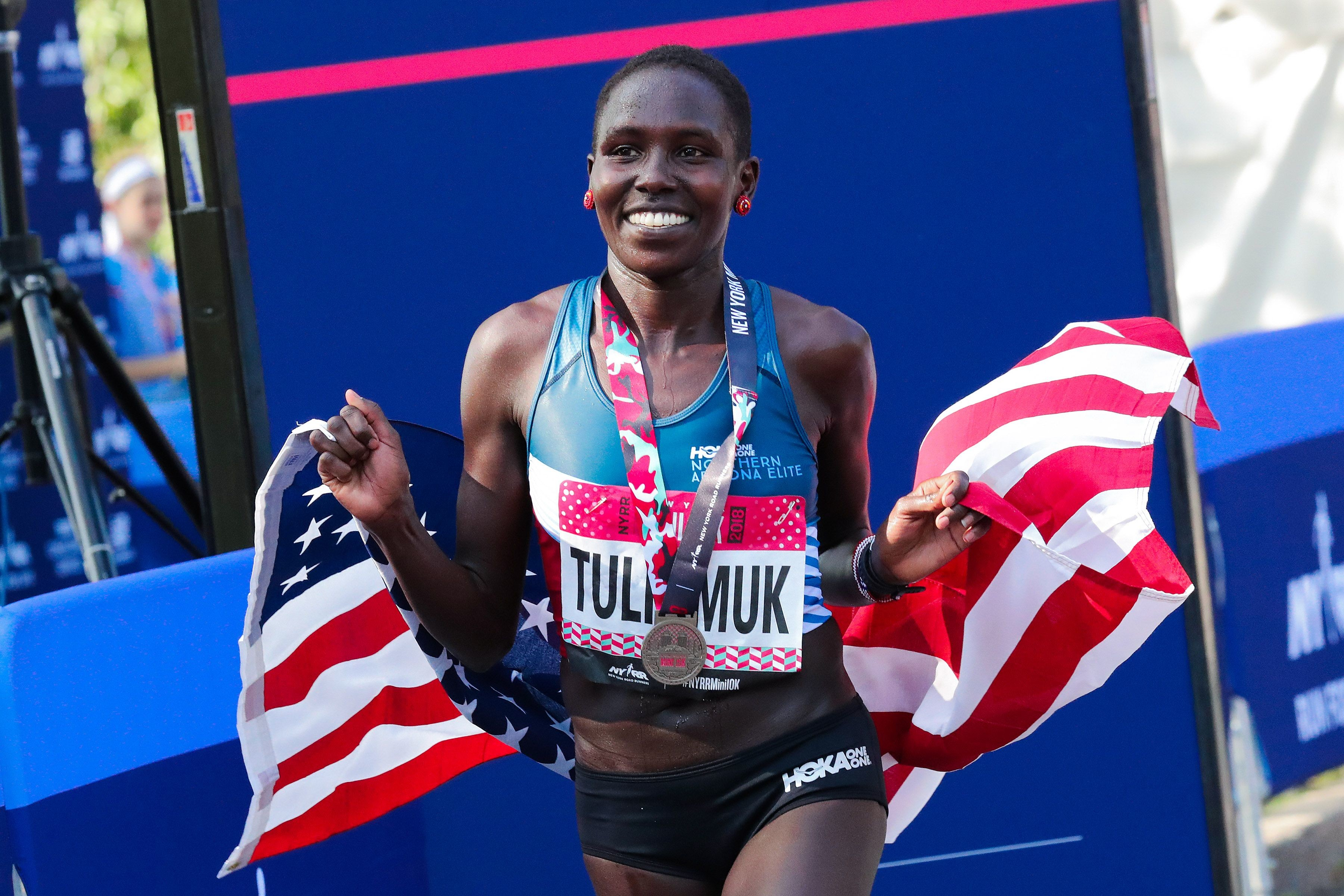 Aliphine Tuliamuk represents the American dream and she hopes she caps that dream by making the 2020 US Olympic Team