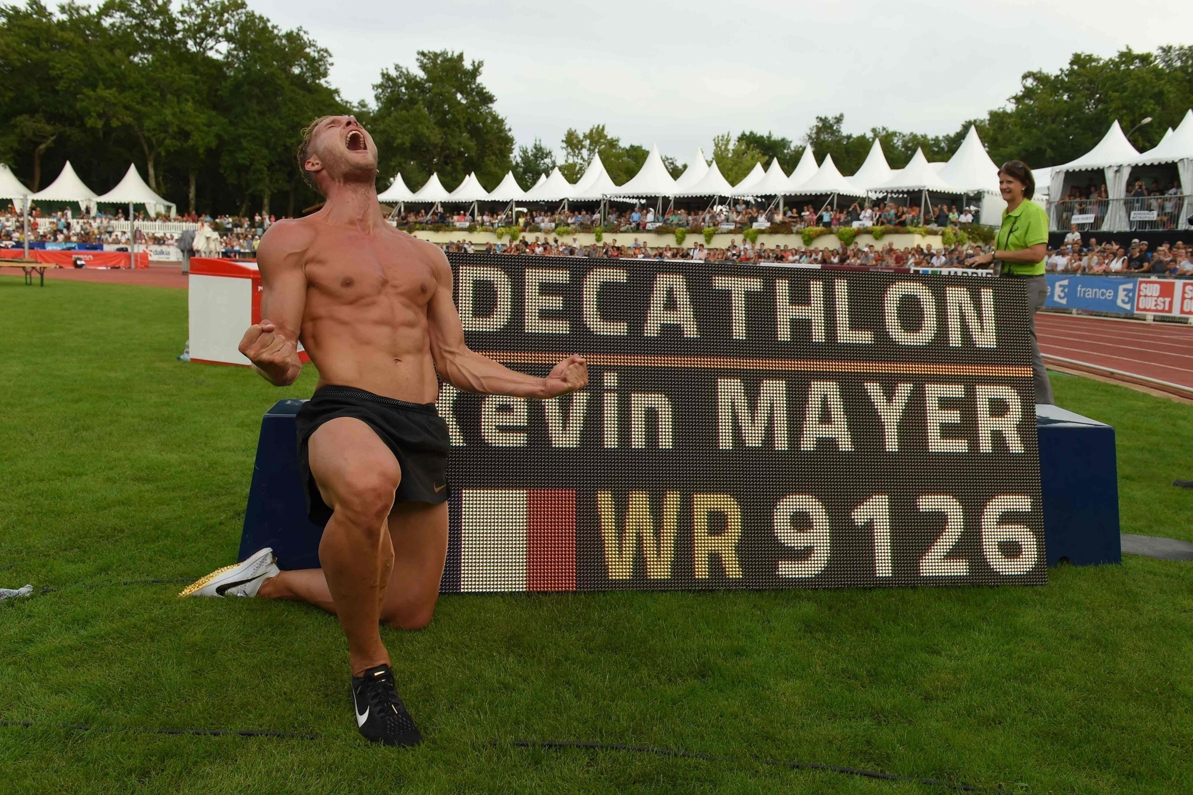 Two world records were set Sunday September 16, the Marathon and the Decathlon