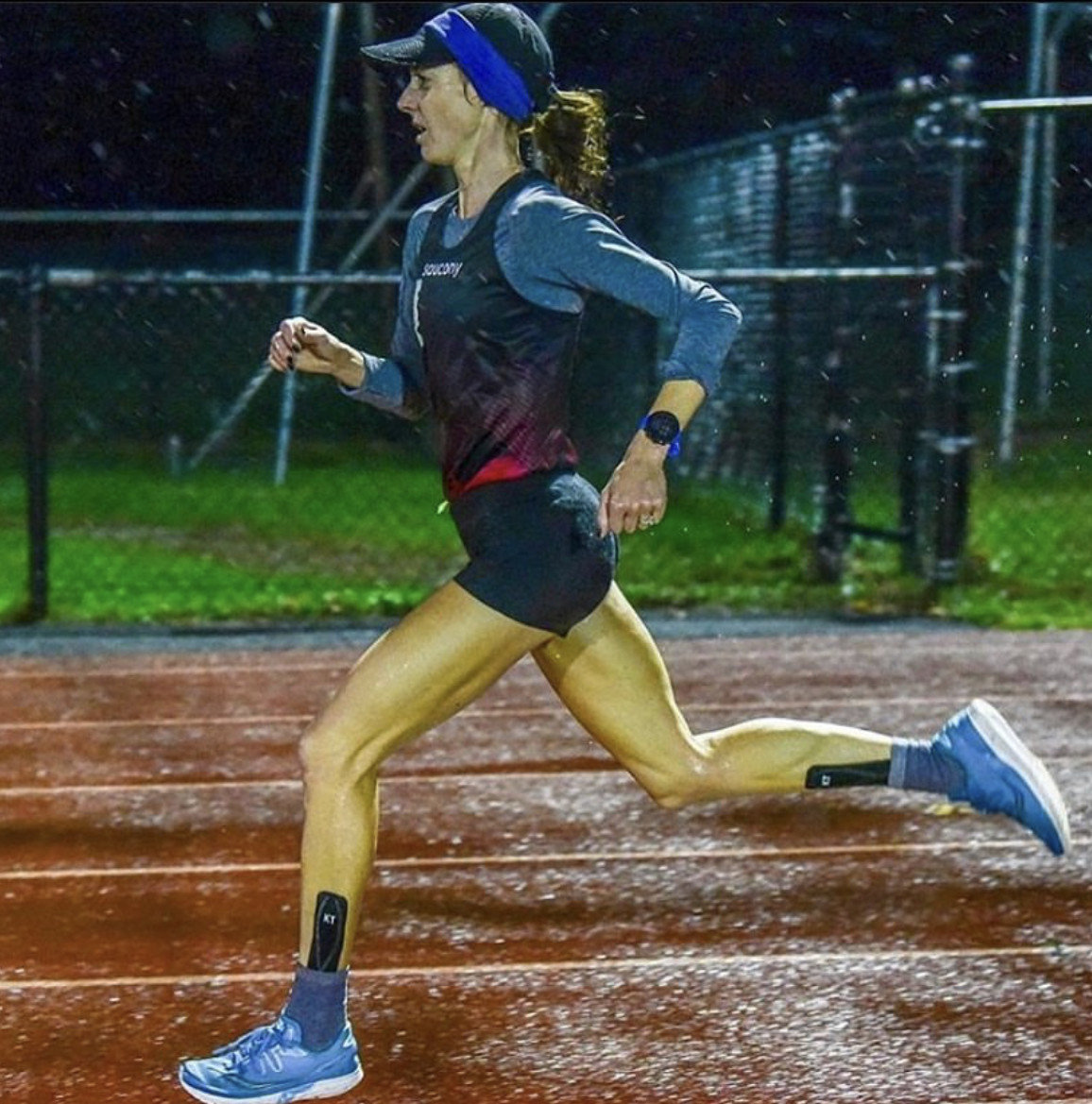 Molly Huddle broke three American records November 1