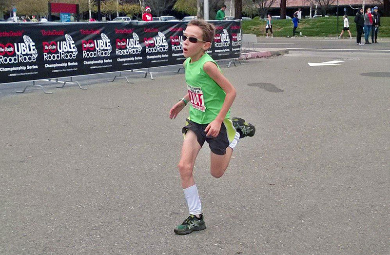 Global Run Challenge Profile: 13-year-old Elliot Daniels set a world record in the half at age 10 but his goals are much bigger