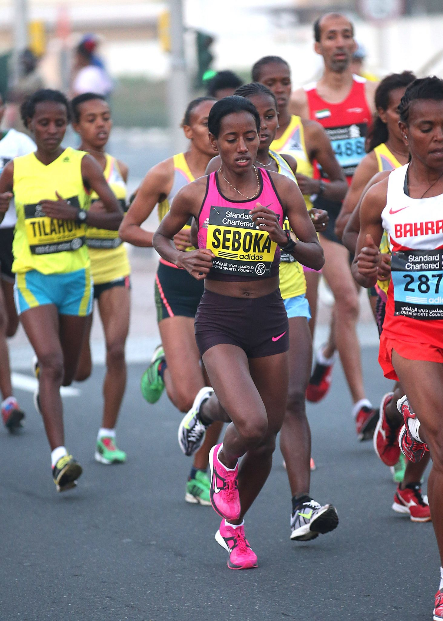Ethiopia's Mulu Seboka will take on the in-form Celestine Chepchirchir of Kenya at the Guangzhou Marathon, a World Athletics Gold Label road race, on Sunday