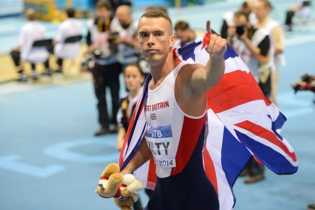 Richard Kilty is going to be the captain of the Great Britain and Northern Ireland team for the IAAF World Championships