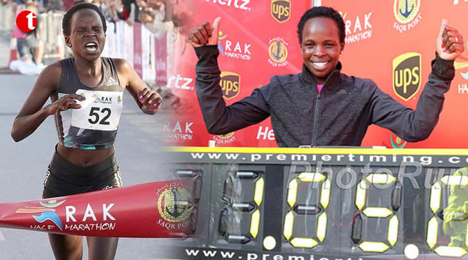 Kenya's Peres Jepchirchir will be back for another shot at the Ras Al Khaimah half marathon title on February 21