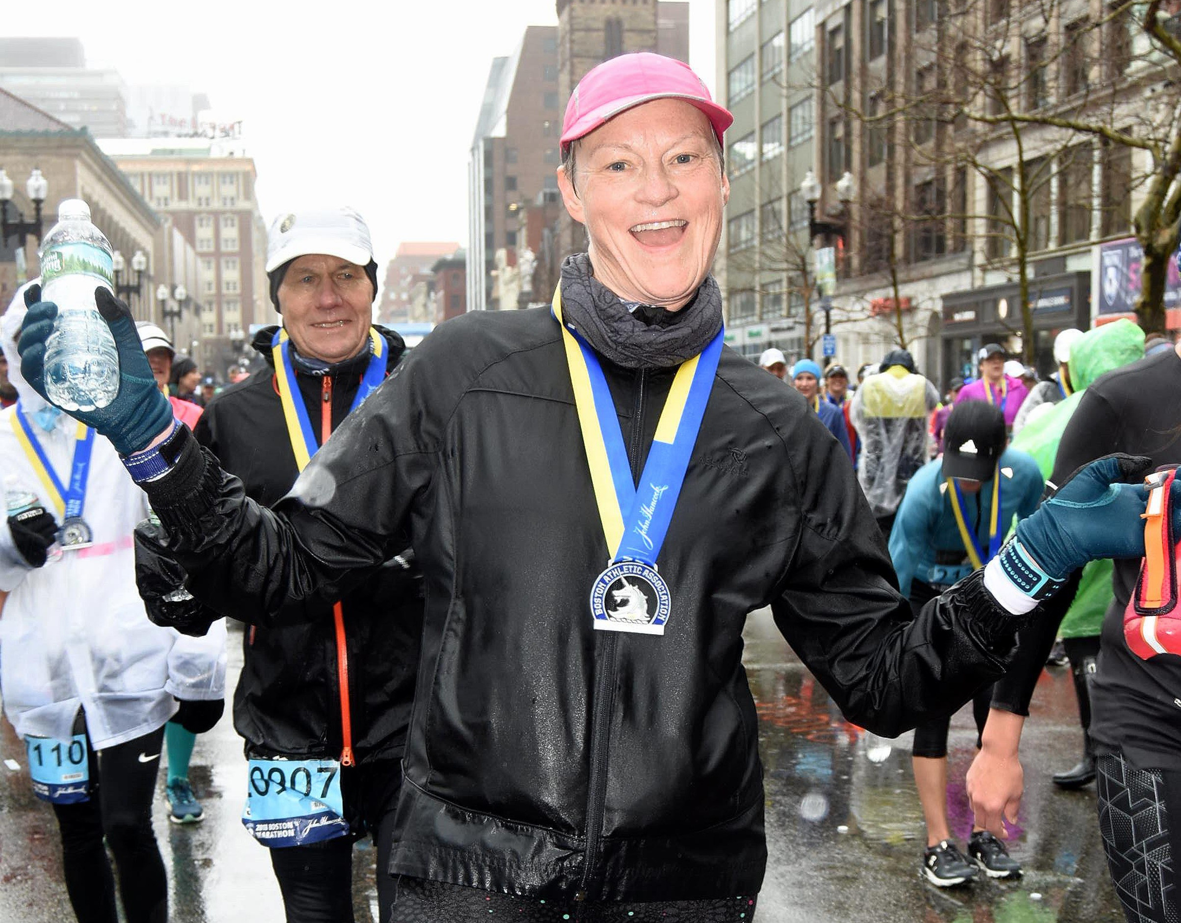 Global Run Challenge Profile: Kati Toivanen is an accomplished artist and a devoted marathoner