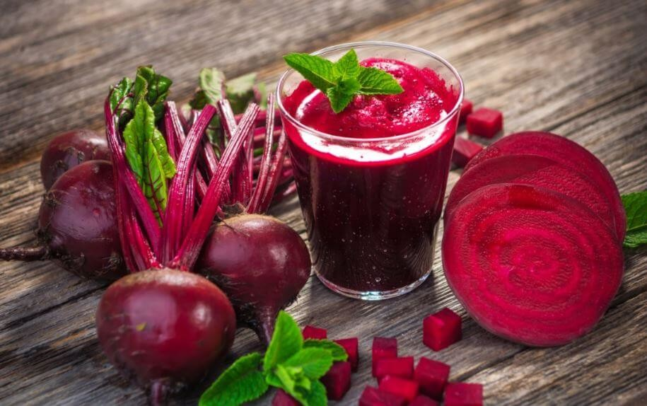 Beet juice enhances athletic performance giving to the athletes an amount of nitrate in a natural food source