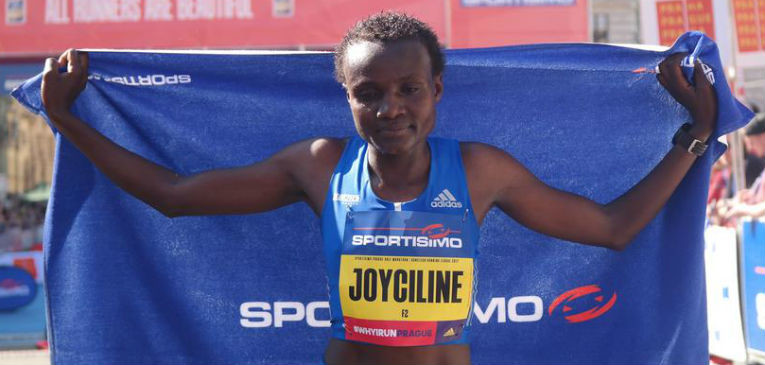 World half marathon record holder Joyciline Jepkosgei says she will be ready for a full marathon debut