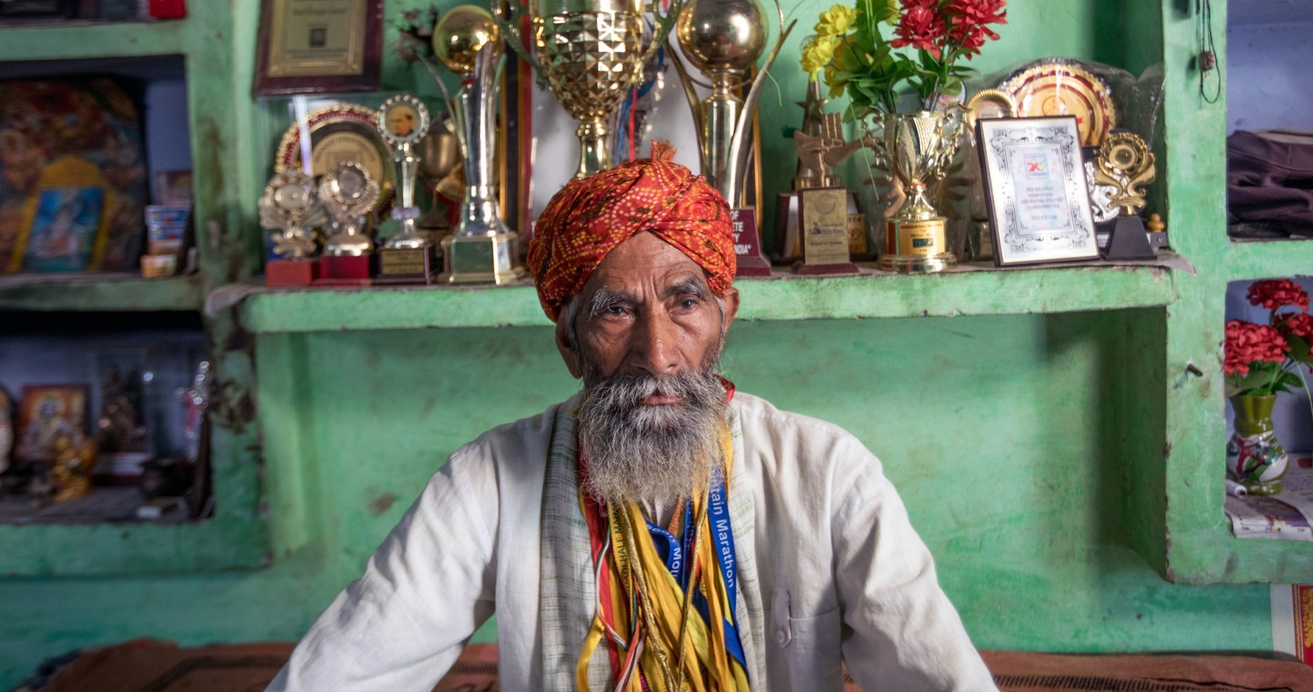 Indian's Dharam Singh claims to be 121-years-old and is still running races
