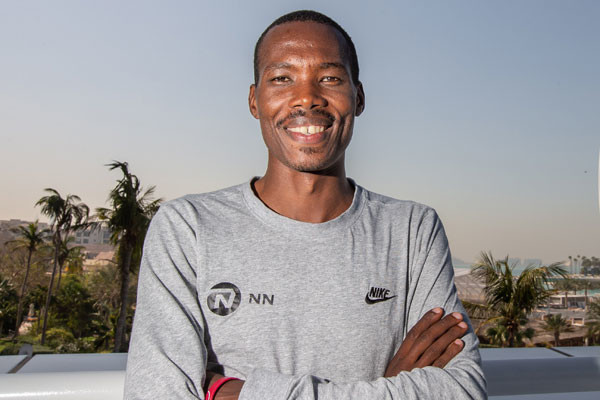 Kenyan Eric Kiptanui faces a stern test as he makes his full marathon debut at the Standard Chartered Dubai Marathon on January 24