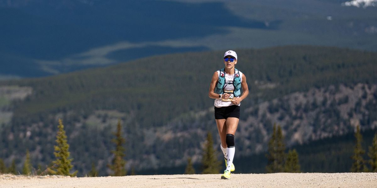 Kara Goucher says the Leadville Trail Marathon was the hardest thing she'd ever done