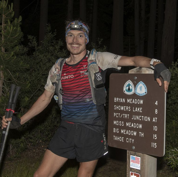 Motivated by Mosquitos, Kyle Curtin Sets the Unsupported FKT for the Tahoe Rim Trail