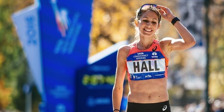 Sara Hall will headline the Mattoni Usti nad Labem Half Marathon on September 15