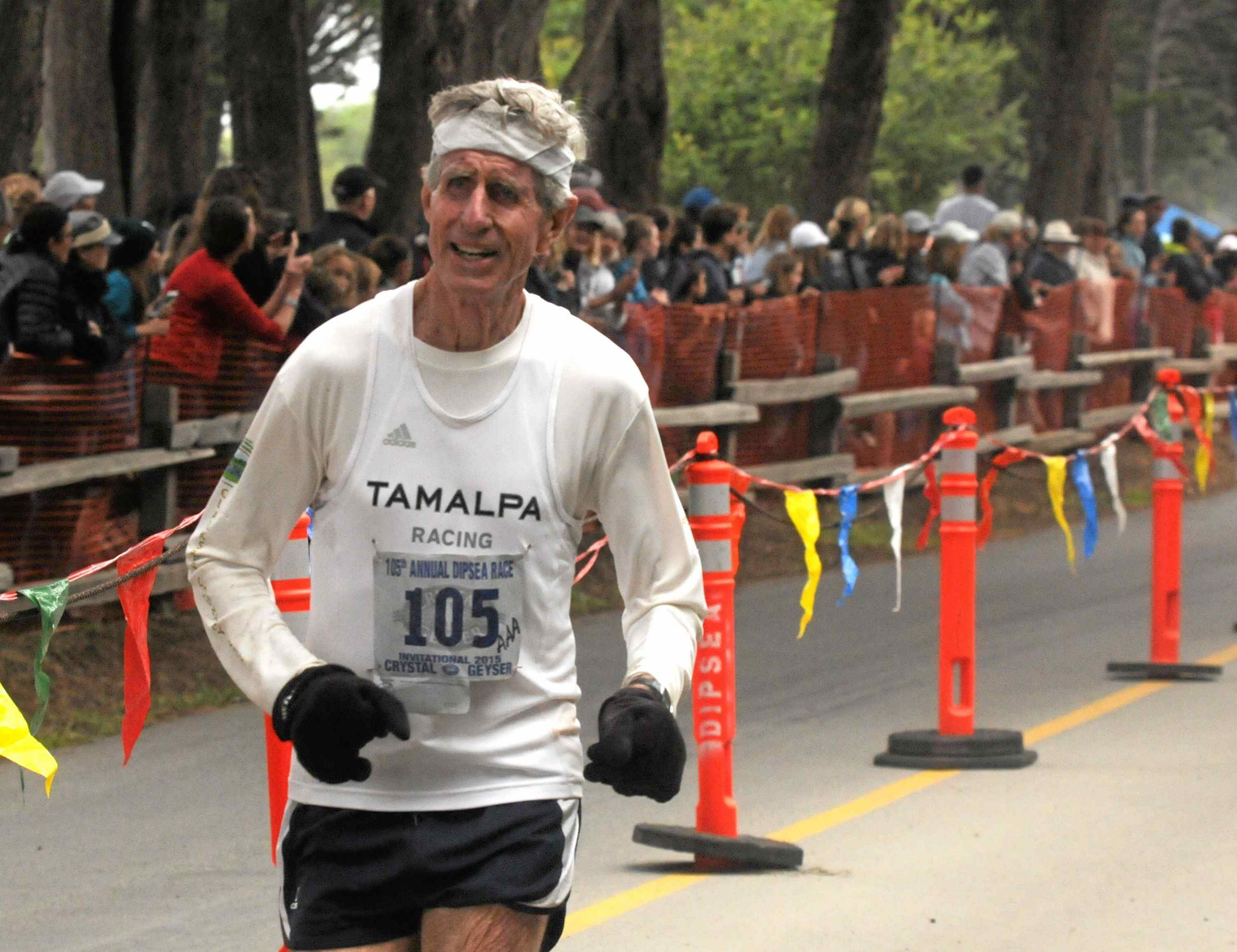 80-year-old Russ Kiernan Running the Dipsea for the 49th time