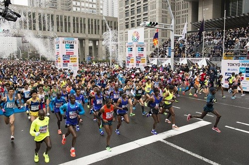 An assault on both the men's and women's records is expected at the Tokyo Marathon, a World Athletics Platinum level, on Sunday